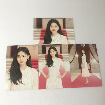 TWICE Tzuyu #Dreamday Dome Tour 2019 Goods 4 Photos Card Set Complete