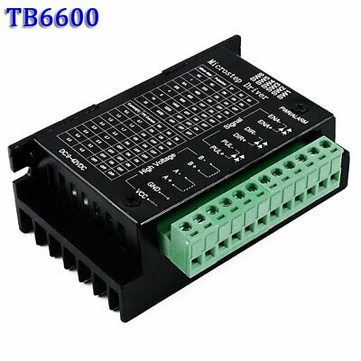 TB6600 Single Axis 4A Stepper Motor Driver Controller DC 9-24V Micro-Step CNC