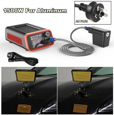 AU Plug 1500W Car Body Paint Dent Repair Tool for Removing Aluminum Body Dents