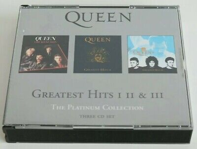 Queen - Greatest Hits I II & III The Platinum Collection - 3 Disc CD - Preowned