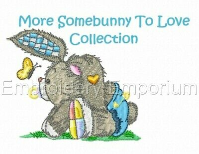 More Some Bunny To Love Collection - Machine Embroidery Designs On Cd Or Usb