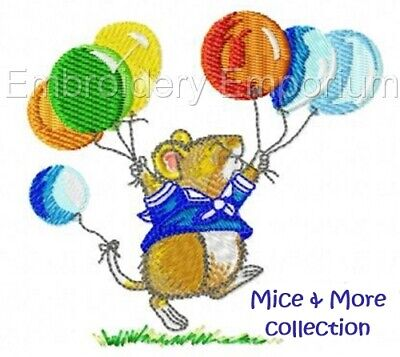 Mice & More Collection - Machine Embroidery Designs On Cd Or Usb