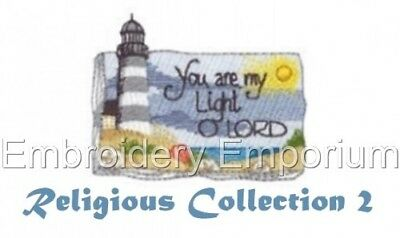 Religious Collection 2 - Machine Embroidery Designs On Cd Or Usb
