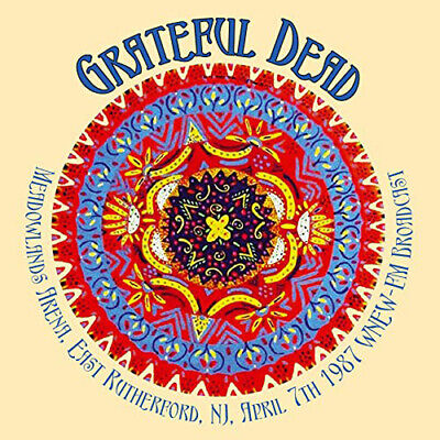 The Grateful Dead : Meadowlands Arena, East Rutherford, NJ, April 7th 1987 CD 2