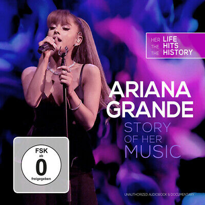 Ariana Grande : Story of Her Music CD Album with DVD 2 discs (2019) ***NEW***