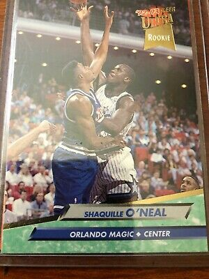 Ultra Fleer 92 93 Shaquille Oneal Shaq Rookie Card 328