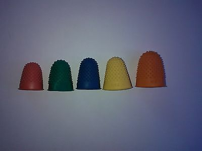 Dog Coat Hand Stripping Rubber Thimbles - Sold Individually