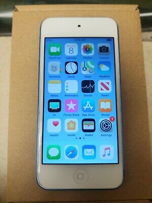 READ>>>>GOOD CONDITION...(32 GB) BLUE Apple iPod touch 6th Generation Blue (64)