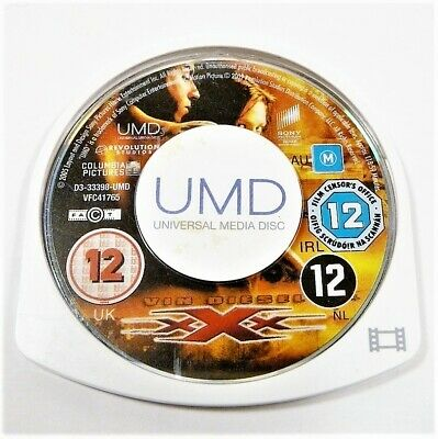 "Xxx Vin Diesel Movie Disk Only Psp ""Gc"" Auz Seller"