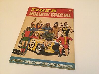 Tiger Comic 1976 Holiday Special - Mini Cooper Cover