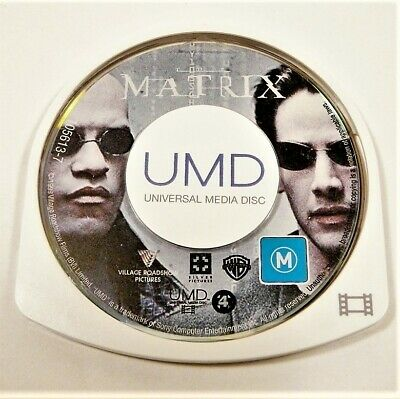 "The Matrix Movie Disk Only Psp ""Gc"" Auz Seller"
