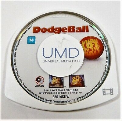 "Dodgeball Movie Disk Only Psp ""Gc"" Auz Seller"