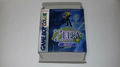 The Legend of Zelda Oracle of Ages - Gameboy Color- PAL - Only Box