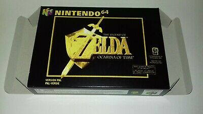 The Legend of Zelda Ocarina of Time - PAL  - Nintendo 64 - N64 - Only Box