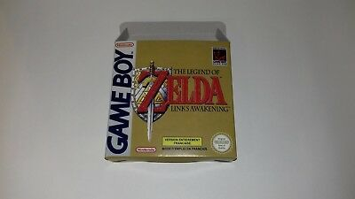 The Legend of Zelda Link's Awakening - PAL  - Gameboy  - Only Box