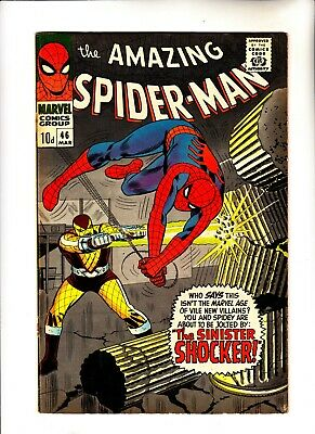Amazing Spider-Man 46 1st app of Shocker