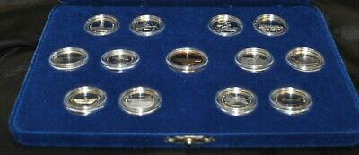 1992 Canada 125 Sterling SIlver Proof Quarter Set with Loonie in Case & COA