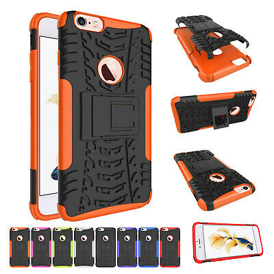 Shockproof Heavy Duty Rubber Armor Protective Case Cover For Apple iPhone 6 Plus