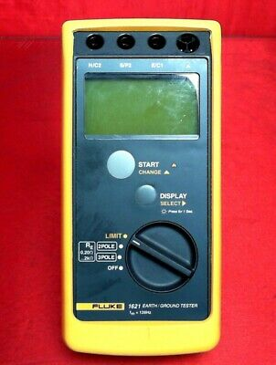 Fluke 1621 S090400962A3 Earth/Ground Tester 128Hz