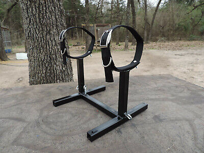 Fully Adjustable Grooming / Breeding Stand W Collars! Apbt Pit Bull Bulldog