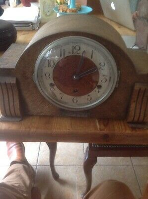 Large Chiming Mantle Clock