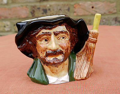 "OldCourt Ware  ""Crossing Sweeper"" Character Jug"