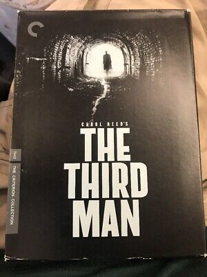 The Third Man The Criterion Collection DVD Set - Very Good Condition: 2 DVD Set