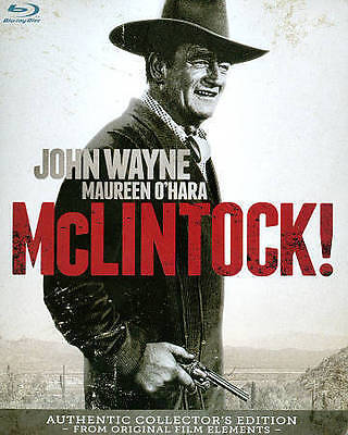 McLintock! – Authentic Collector's Edition [Blu-ray] New DVD! Ships Fast!