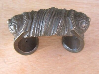 Antique Ottoman Woman Bracelet Balkan Silver Alloy-19Th C
