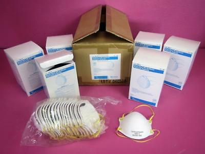 Secure-Gard N95-S Small Particulate Respirator Surgical Mask Case Lot (120 pcs)