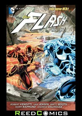 FLASH VOLUME 6 OUT OF TIME HARDCOVER Hardback Collects (2011) #30-35, Annual #3