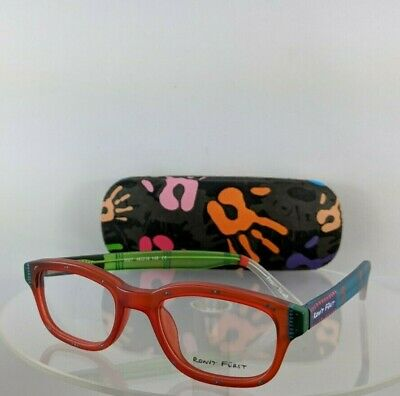 9d1e27f7813e Brand New Authentic RONIT FURST RF 5027 07 Hand painted Eyeglasses 48mm  Frame