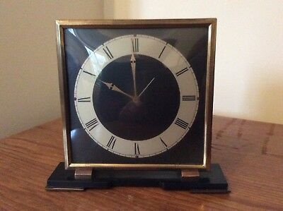 Smiths Electric Mantle / Desk Clock ~ WORKING