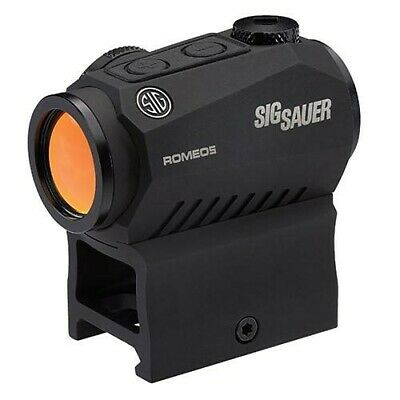 Sig Sauer SOR52001 Black Romeo 5 Compact Red Dot 1X20mm Sight System w/ Mount