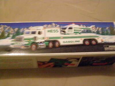 Hess 1995 Toy Truck &  Helicopter Pre-Owned
