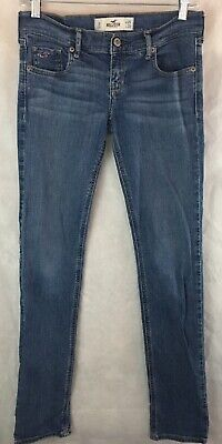 HOLLISTER Womens  Low Rise Skinny Jeans Size 3R Waist 28 Inseam 31 Socal stretch