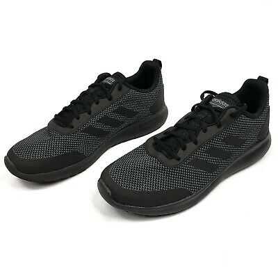purchase cheap d1eb6 35a92 Adidas Element Race Running Shoes Cloudfoam Sneakers Black Grey DB1455 Men s  12