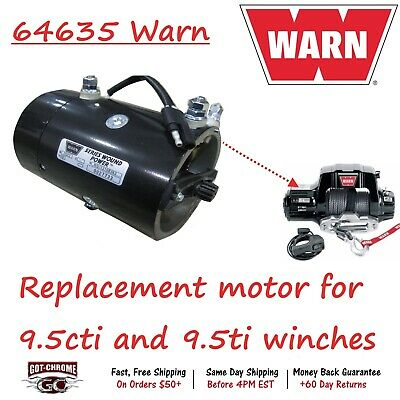 WINCH MOTOR 24 VOLT FOR RAMSEY WINCH APPLICATIONS 458002 458005KEYED SHAFT