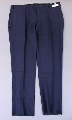 Joseph Abboud Men's JOE Stretch Slim Pants W/ Unfinished Hem HD3 Navy Size 48X35