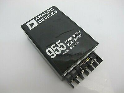 Analog Devices 955 Power Supply 5VDC 1000mA