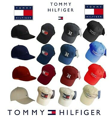 Bnwt Authentic Tommy Hilfiger Baseball Cap Hat Summer Sale One Size Adult