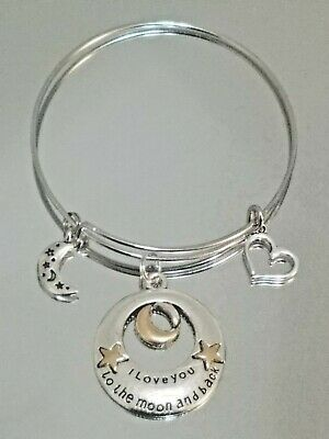 4425ce08a2e64 ALEX AND ANI Bracelet With Pewter Sun And Moon Charm - $30.00 | PicClick
