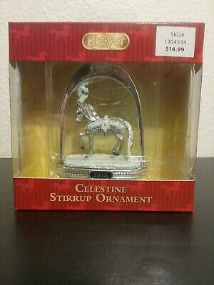 Breyer 2018 Celestine Christmas Holiday Horse Stirrup Ornament NIB