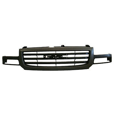 CPP Gray Grill Assembly for GMC Sierra Grille