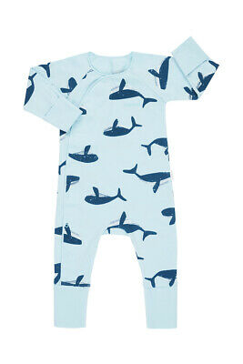 Bonds Newbies Coverall - Petite Whale (3-6 Months)