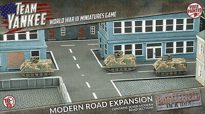 Flames of War: Modern Road Expansion - Terrain Set