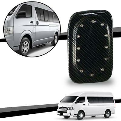 Oil Cap Gas Tank Cover Fuel Carbon Kevlar With Nuts Toyota Hiace Commuter 05-18