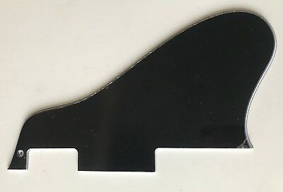 Long Fits Gibson ES 335 Guitar Pickguard Scratch Plate 3 Ply Black New