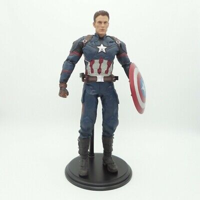 1:6 Captain America Civil War PVC Action Figure Marvel Avengers Endgame Shield