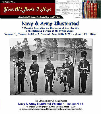 Navy and Army Illustrated 1895-1896 Volume 1 CDROM